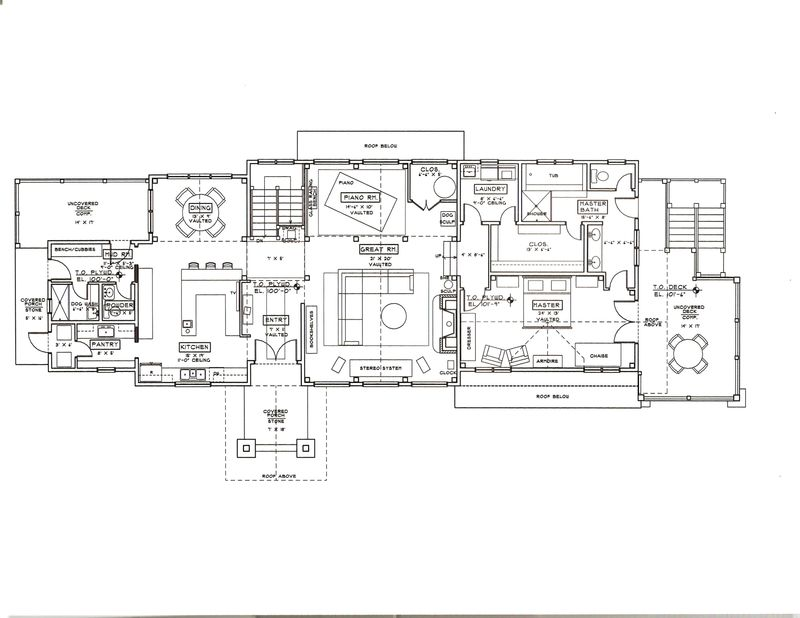 Common floor plan concepts for a new home the full sink in your kitchen can be shut off from the rest of the house in addition closed floor plans offer more privacy to their occupants solutioingenieria Image collections