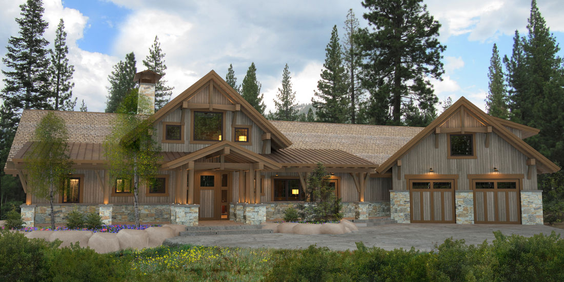 bragg creek - Cottage House Plans Canada