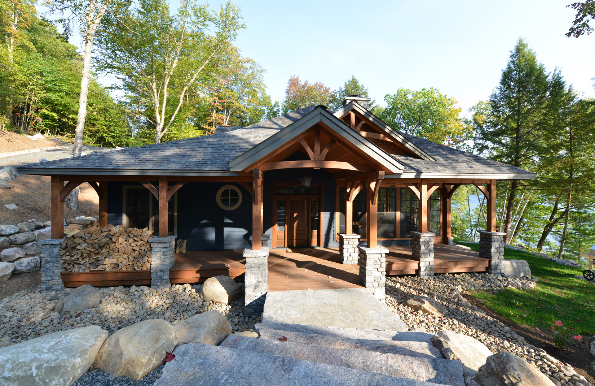 Cottage Amp Cabin Timber Frames