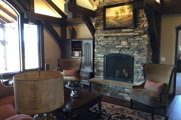 Black-Forest-Timber-Frame-Home-Colorado-Canadian-Timberframes-Fireplace