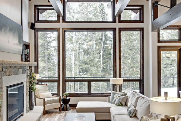 Kicking-Horse-Chalet-British-Columbia-Canadian-Timberframes-Window-Wall