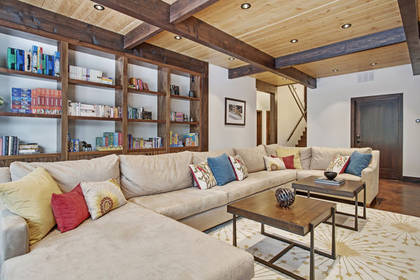 Kicking-Horse-Chalet-British-Columbia-Canadian-Timberframes-Basement-Family-Room
