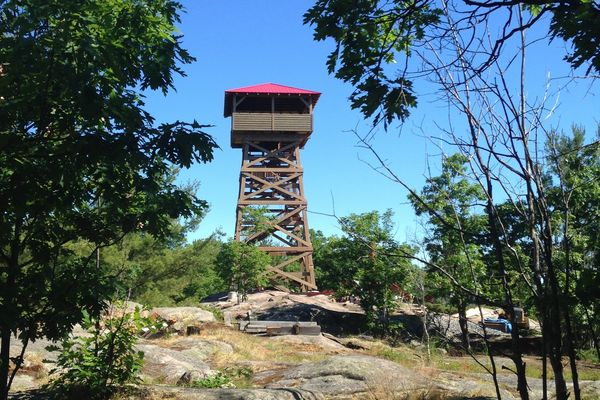 Ferndale-Fire-Tower-Ontario-Canadian-Timberframes