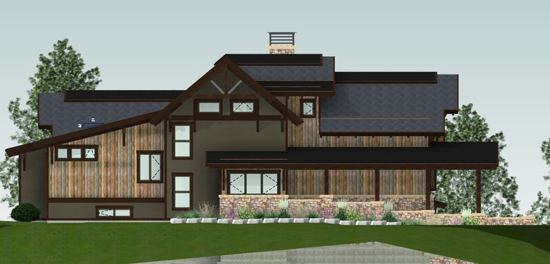 Whytecliff-Canadian-Timberframes-Design-Front-Elevation