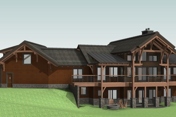 Montrose-Ranch-Colorado-Canadian-Timberframes-Design-Rear-Right-3D