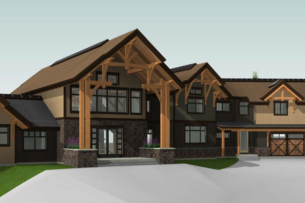 Fraser-River-Timber-Home-British-Columbia-Design-Front-Left