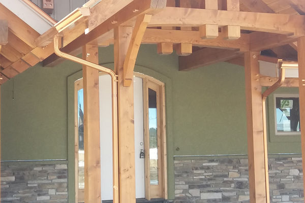Colorado-Springs-Timber-Home-Construction-Truss