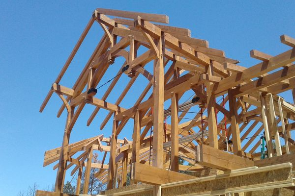 Colorado-Springs-Timber-Home-Construction