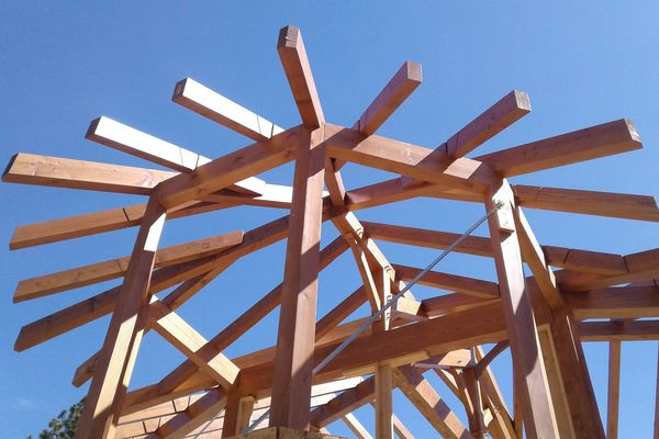 Colorado-Springs-Timber-Home-Construction-Framing