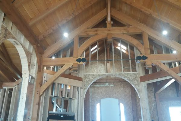 Colorado-Springs-Timber-Home-Construction-Timber-Frame