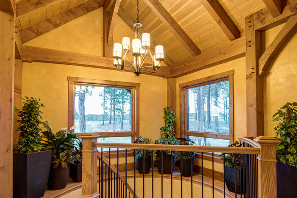 Colorado-Springs-Timber-Home-Canadian-Timberframes-Timber-Beams