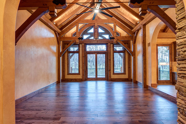 Colorado-Springs-Timber-Home-Canadian-Timberframes-Great-Room-View