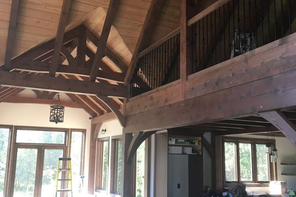 Rocky-Mountain-House-Alberta-Timber-Frame-Construction-Great-Room