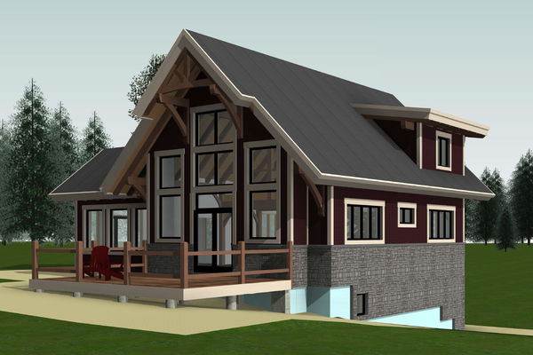 Rocky-Mountain-House-Canadian-Timberframes-Design-Front-Right