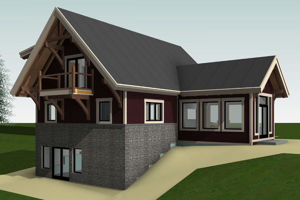Rocky-Mountain-House-Canadian-Timberframes-Design-Rear-Right