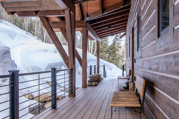Ouray-Mountain-Home-Colorado--Canadian-Timberframes-Front-Deck