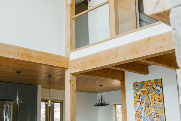 Split-Rock-Place-Sparrow-Lake-Ontario-Canadian-Timberframes-Great-Room-Loft