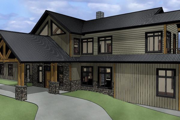 Red-Deer-Timber-Frame-Alberta-Canadian-Timberframes-Design-Front-Right