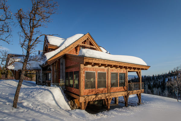 Steamboat-Springs-Colorado-Canadian-Timberframes-Exterior-Sun-Room
