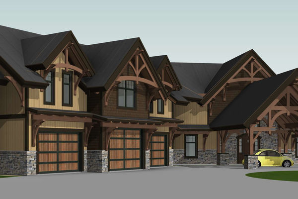 Timber-Creek-Ranch-Canadian-Timberframes-Ontario-Design-Front-Left-Elevation