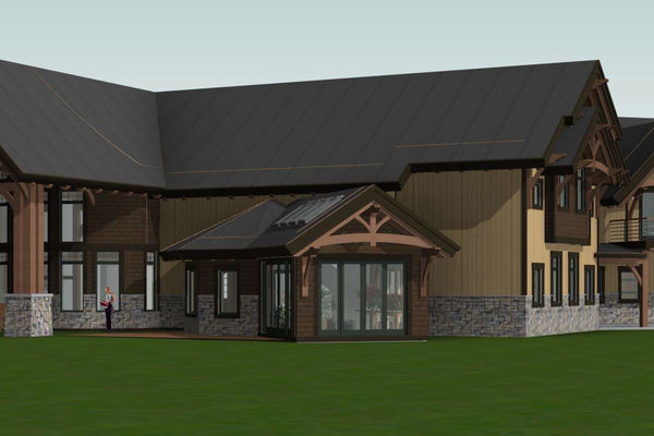 Timber-Creek-Ranch-Canadian-Timberframes-Ontario-Design-Rear-Right-Elevation