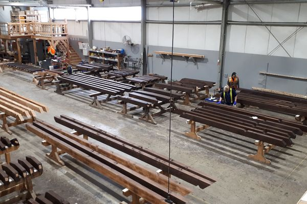 Timber-Creek-Ranch-Canadian-Timberframes-Ontario-Production