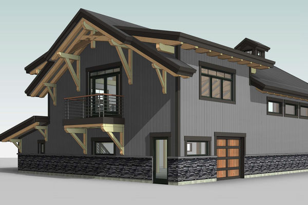 Golden-Creek-Barn-Design-British-Columbia-Canadian-Timberframes-Rear-Right-Perspective