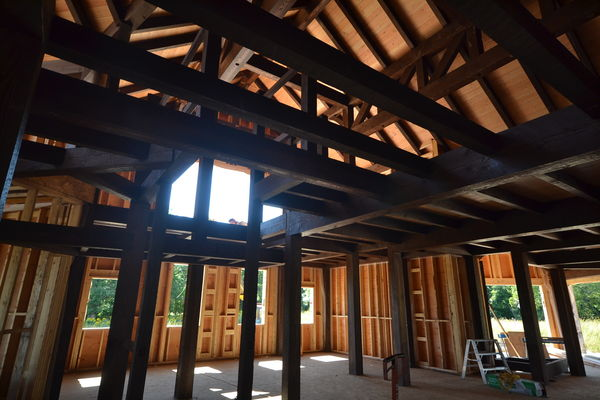 Timber-Creek-Ranch-Canadian-Timberframes-Ontario-Construction-Rear-Exterior