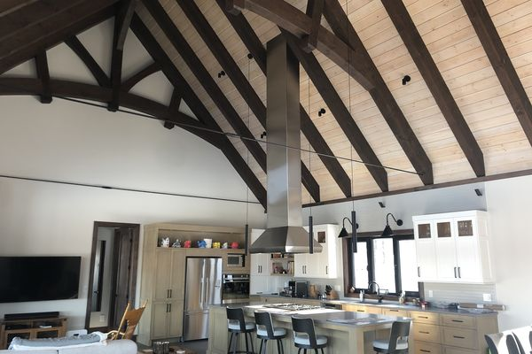 Bromont-Timber-Frame-Home-Quebec-Canadian-Timberframes-Completed-Interior-Great-Room