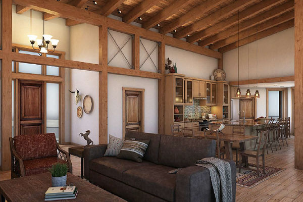 Cody-Wyoming-Canadian-Timberframes-Tabberson-Interior