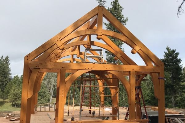 Oregon-Hobbit-House-Canadian-Timberframes-Construction-Raising