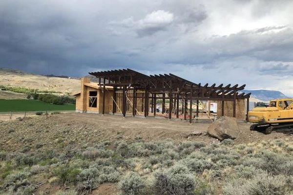 Cody-Wyoming-Canadian-Timberframes-Construction-Timber-Raising