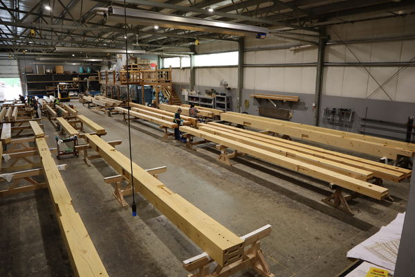 Halibut-Point-Cruise-Terminal-Alaska-Canadian-Timberframes-Production-Beams