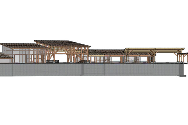 Halibut-Point-Cruise-Terminal-Alaska-Canadian-Timberframes-Design-Front-Elevation
