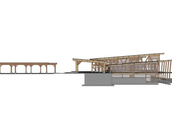 Halibut-Point-Cruise-Terminal-Alaska-Canadian-Timberframes-Design-Right-Elevation