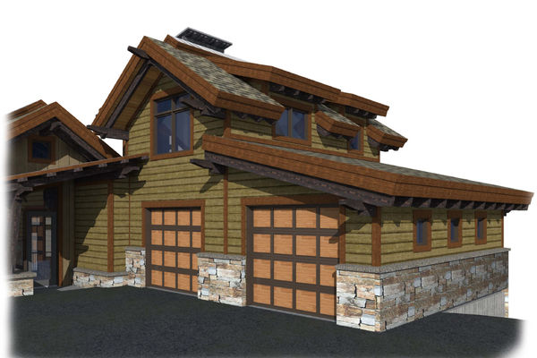 Kicking-Horse-Chalet-British-Columbia-Canadian-Timberframes-Design-Front-elevation
