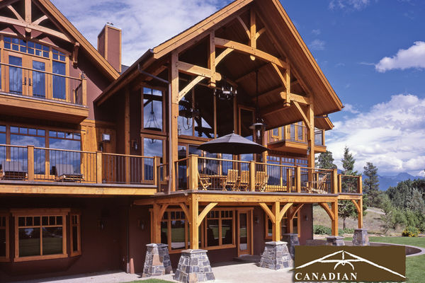 Osprey-Point-Invermere=British-Columbia-Canadian-Timberframes-Rear-Deck