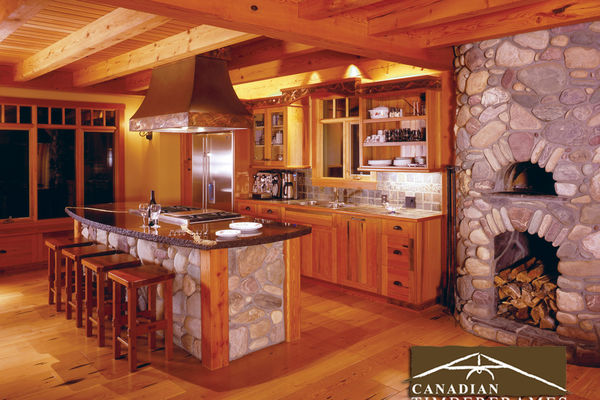 Osprey-Point-Invermere=British-Columbia-Canadian-Timberframes-Kitchen