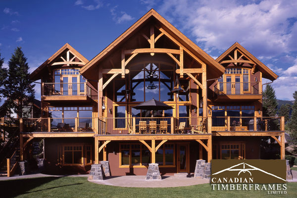 Osprey-Point-Invermere=British-Columbia-Canadian-Timberframes-Rear-Exterior