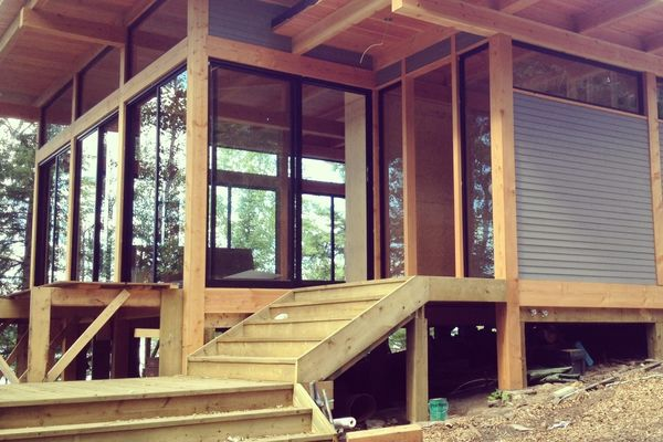 Island-Cottage-Ontario-Canadian-Timberframes-Construction-Exterior