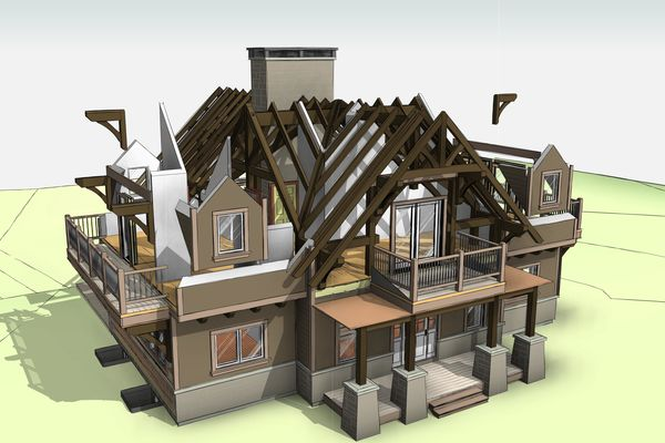 Hidden-Ridge-Alpine-Home-Ontario-Canadian-Timberframes-Design-Timber-Exploded