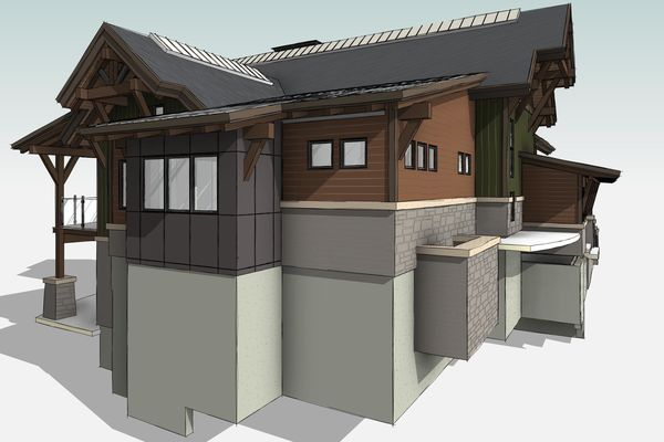 Whytecliff-Bowen-Island-British-Columbia-Design-3D-Elevation