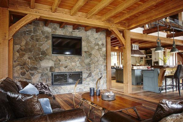 Hill-Top-Retreat-Collingwood-Ontario-Canadian-Timberframes-Family-Room