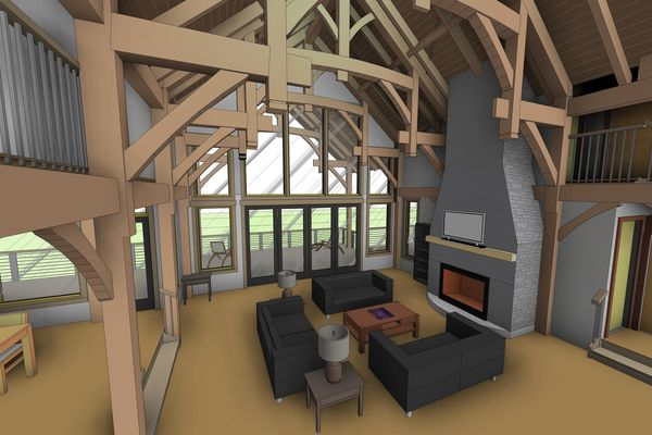Osprey-Point-Invermere=British-Columbia-Canadian-Timberframes-Design-Interior