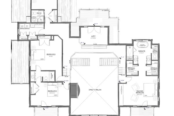 Osprey-Point-Invermere=British-Columbia-Canadian-Timberframes-Design-Second-Floor-Plan