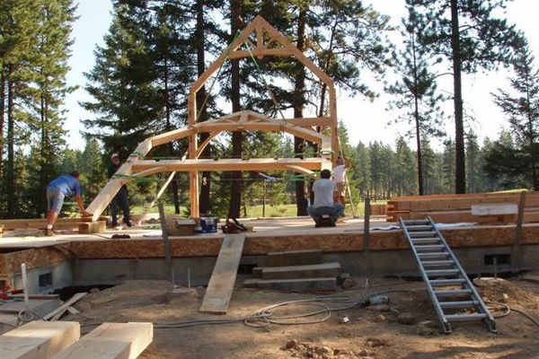 Deception-Pass-Washington-Canadian-Timberframes-Construction-Timberframe-Raising