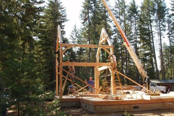Deception-Pass-Washington-Canadian-Timberframes-Construction-Raising