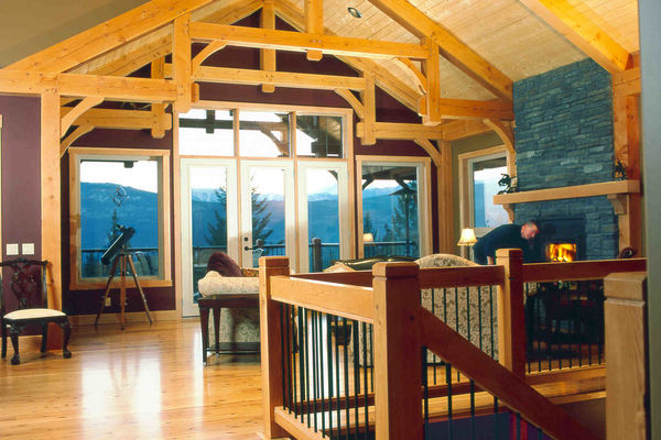 Rocky-View-Eureka-Montana-Canadian-Timberframes-Great-Room