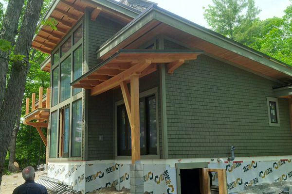 Split-Rock-Place-Sparrow-Lake-Ontario-Canadian-Timberframes-Construction-Siding