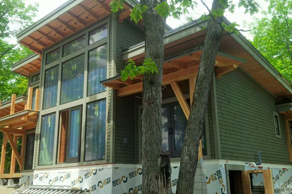 Split-Rock-Place-Sparrow-Lake-Ontario-Canadian-Timberframes-Construction-Exterior-Siding